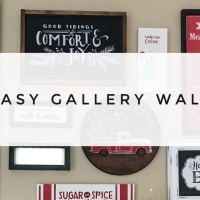 Easy Gallery Wall