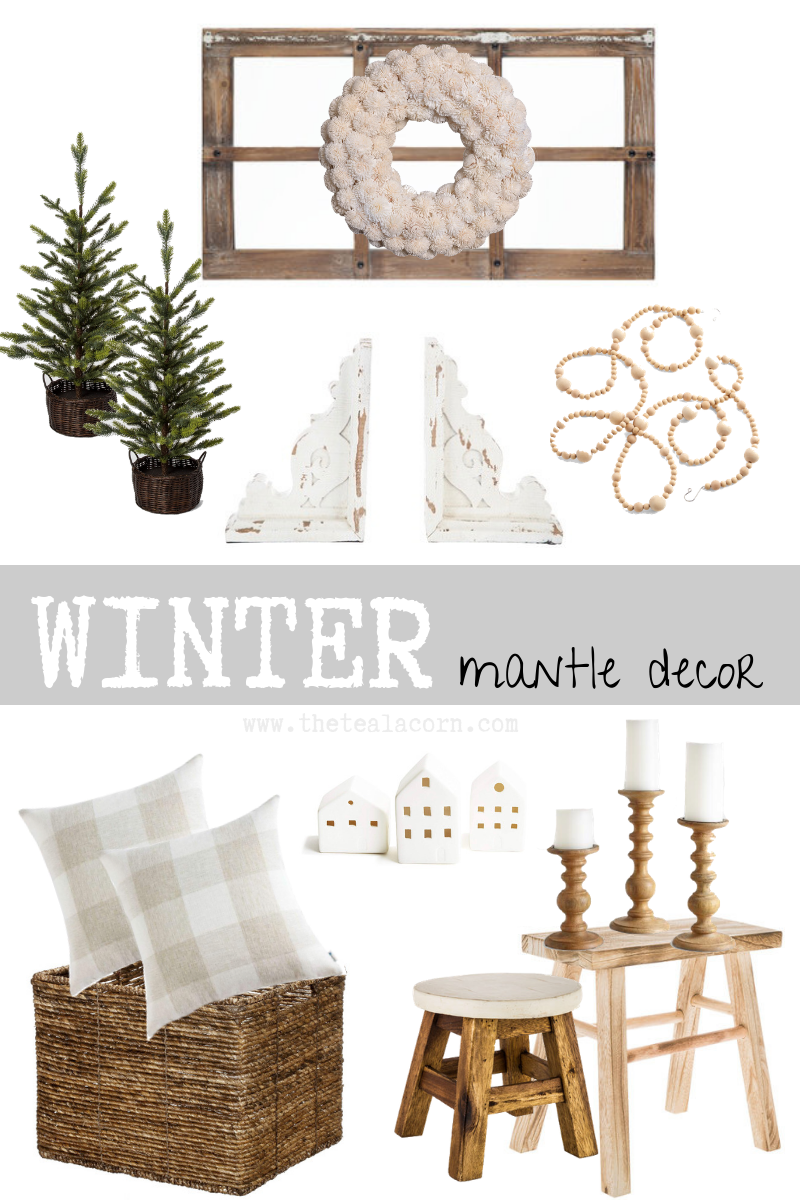 winter decor shopping photo